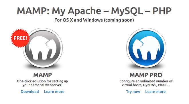MAMPを設定!Macのローカル環境でWordPressを動かす。