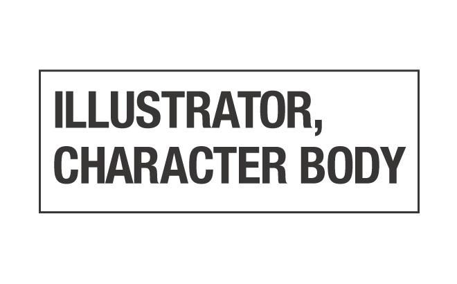 Illustratorで入力テキストに合わせて文字枠を作る方法