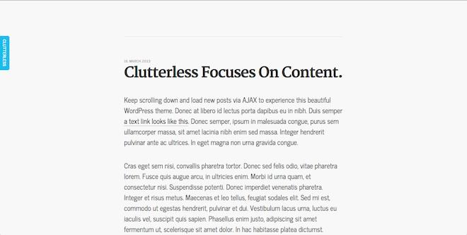 clutterless