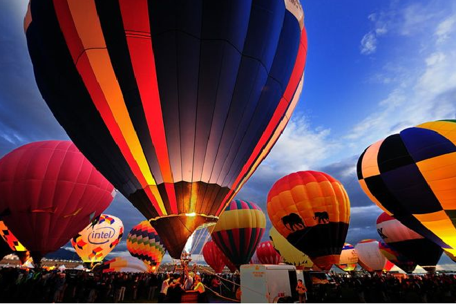 アルバカーキ国際気球フェスティバル