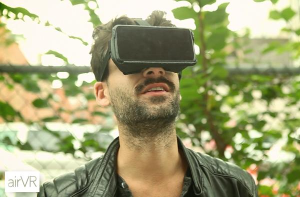 kickstarter AirVR - Virtual Reality for iOS
