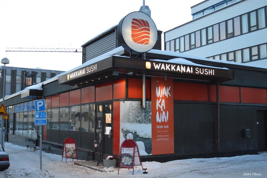 フィンランド・ロバニエミの市街地