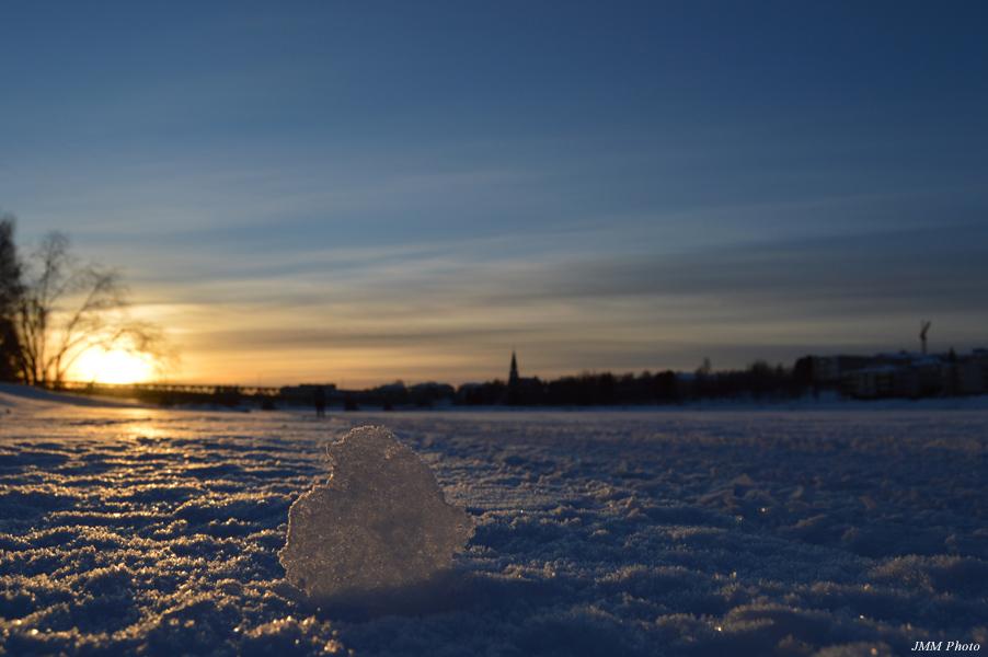 フィンランドの冬の様子